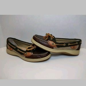 Sperry Top Sider Angelfish Herringbone Size 6.5M